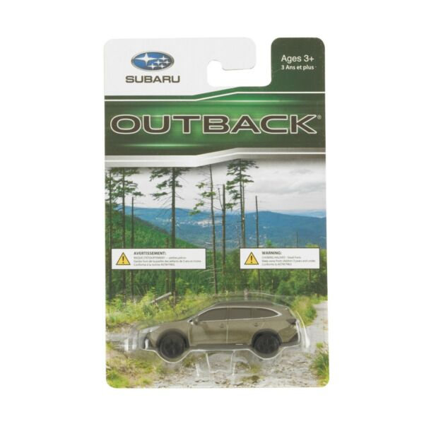 Official Genuine Subaru Outback 1 64 Die Cast Toy Car Diecast New 1:64 New Green