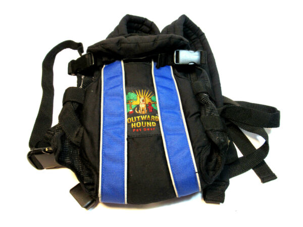 Outward Hound Pet Travel Gear Blue Small Carrier Animal Dog Transport Pack $17.77