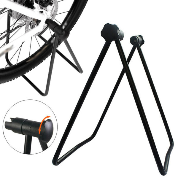 Bicycle Trainer Stationary Bike Cycle Stand Indoor Exercise Training Folding New $29.89