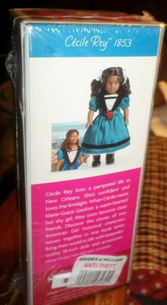 AMERICAN GIRL CECILE REY 1853 6 quot; MINI DOLL amp; MINI BOOK NEW IN SEALED BOX