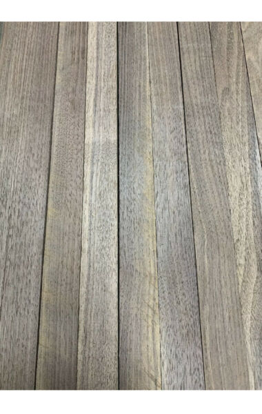"Beautiful 12 Boards Of Black Walnut Lumber Dried Size: 3 4""x 2""x 16"" DIY Wood $33.99"
