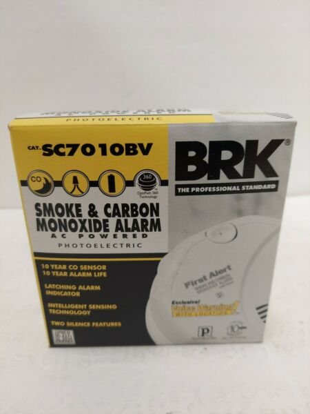 First Alert BRK SC7010BV Talking Photoelectric Smoke and Carbon Monoxide Alarm $31.00