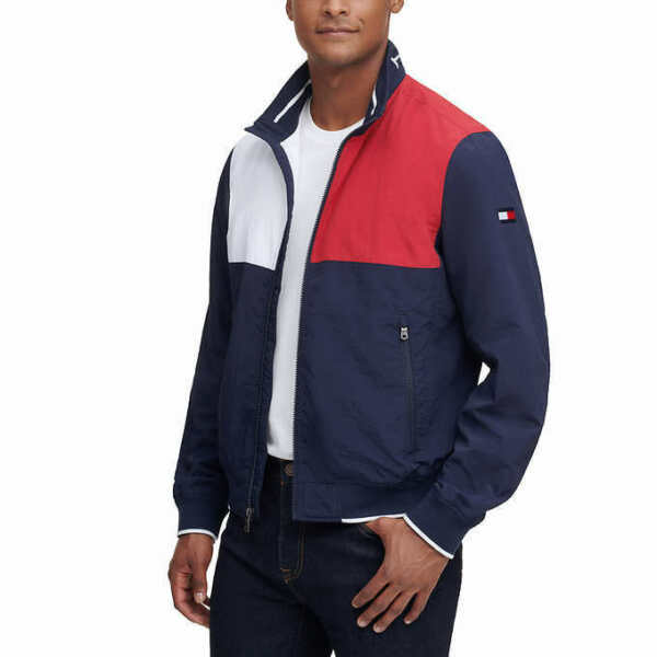 NEW Tommy Hilfiger Men#x27;s Bomber Jacket SELECT COLOR amp; SIZE FREE SHIPPING $49.99