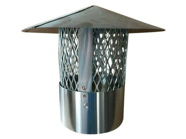 Hardy Wood furnace 6quot; smoke stack cap with arrestor OEM # 3107.18 $81.96