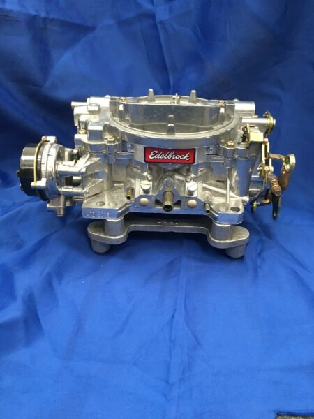 "quot;A"" Grade Remanufactured Edelbrock 600 cfm electric choke carburetor $269.00"