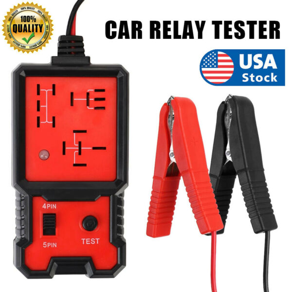 US Electronic Automotive Relay Tester for 12V Cars Auto Battery checker $14.99