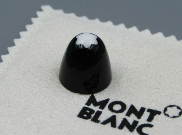 MONTBLANC 149 FOUNTAIN Pen PART Snowflake Top Cap STAR With BLACK New 1960s 14C