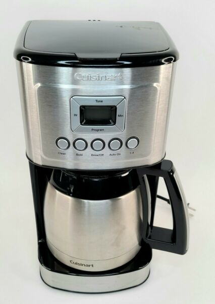 Cuisinart Stainless Steel Thermal Coffeemaker 12 Cup Carafe Silver
