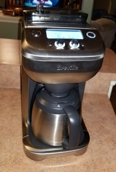 Breville BDC650BSS The Grind Control Coffee Maker Silver