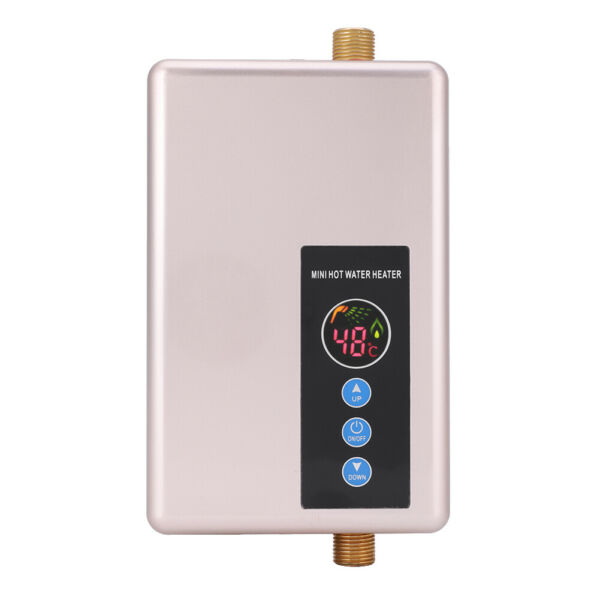 Mini Instant Electric Water Heater Tankless Shower Hot Water System Household $107.15