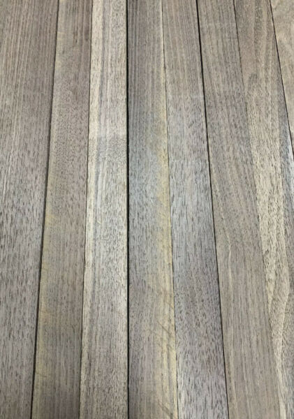 "Beautiful 12 Boards Black Walnut Lumber Dried Size: 3 4""x 2""x 18"" DIY Wood $34.99"