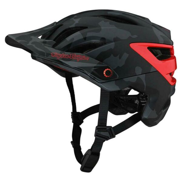 Troy Lee Deisngs Mountain Bike A3 MIPS HELMET; CAMO GRAY RED MD LG $220.00