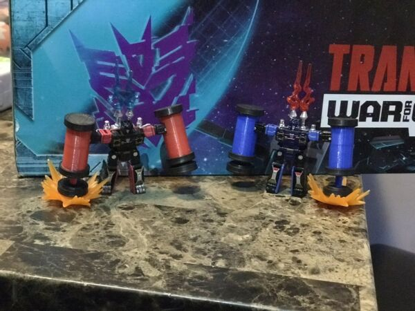 Transformers Siege Frenzy and Rumble Upgrades
