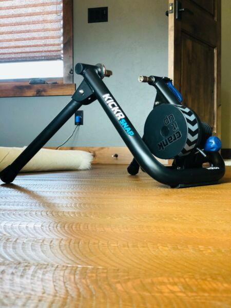 BRAND NEW Wahoo KICKR SNAP Bike Trainer used twice: excellent condition  $350.00