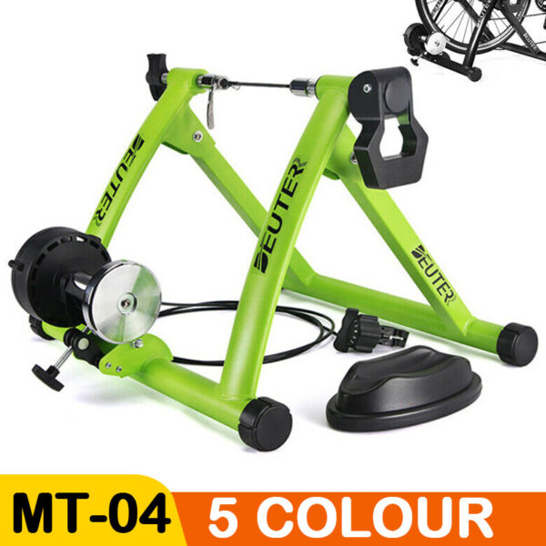 Magnetic Bicycle Bike Trainer Indoor Stationary Exercise Stand Steel Frame MTB $65.99