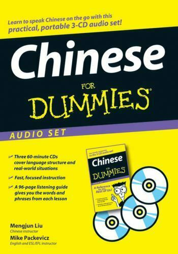 Chinese For Dummies Audio Set $13.61