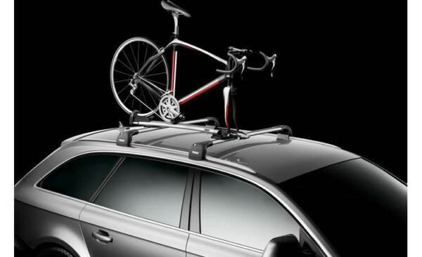 THULE 569 SPRINT T TRACK FORK MOUNT ROOFTOP BIKE CARRIER $229.95