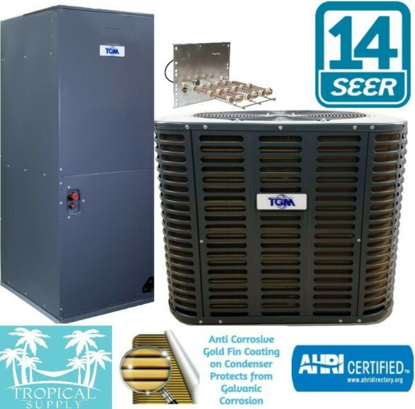3 Ton AC Complete System Condenser amp; Air handler with Heat Strip $1785.00