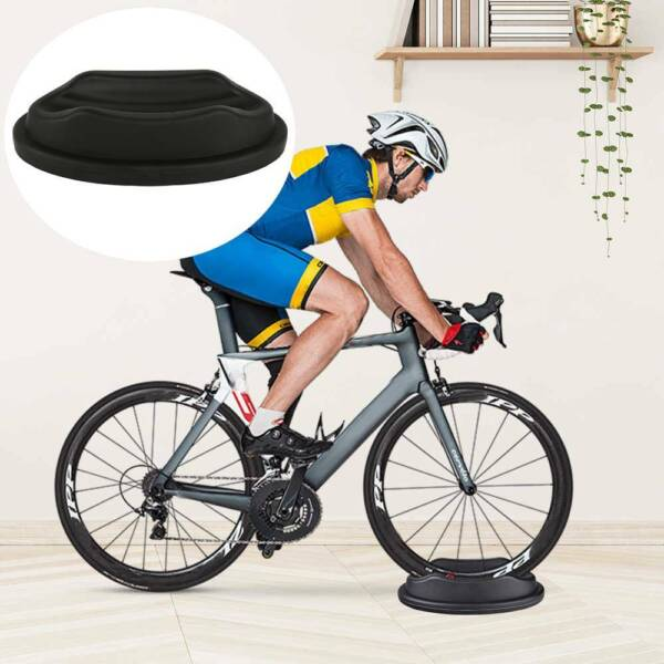 Non Slip Resistance Magnetic Indoor Bicycle Bike Trainer Exercise Stand Black $11.19