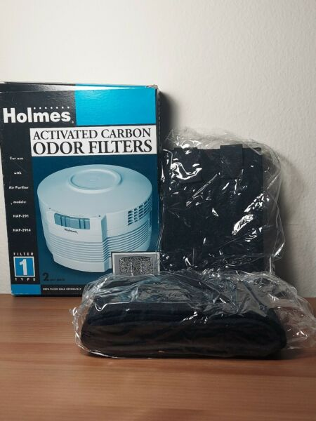Holmes Activated Carbon Odor Filters HAP 291 HAP 2914 2 unopened filters $12.63