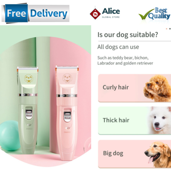 Professional Electric Dog Haircut Machine Trimmer Grooming Hair Cut For Dog Cat GBP 21.69
