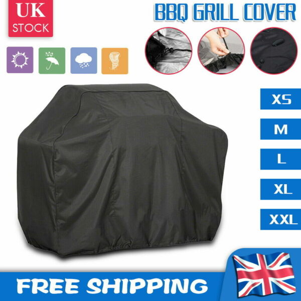 Heavy Duty BBQ Cover Grill Waterproof Barbecue Protector Outdoor Covers M L XL $13.00