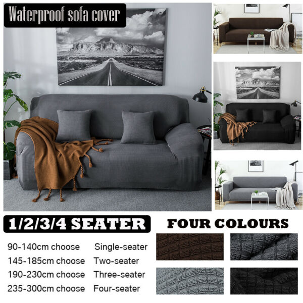 Waterproof Sofa Cover Couch Chair Loveseat Slipcover Furniture Protector Pet Mat $29.99
