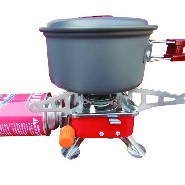 3500W Portable Gas Burner Fishing Outdoor Cooking Camping Picnic Cook Stove