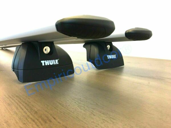 New Complete Thule roof rack system for Audi Q7 in silver. Freeship $589.95
