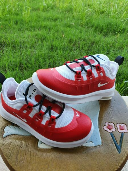 Nike Air Max Axis Red White BRAND NEW Toddler 10C $34.00