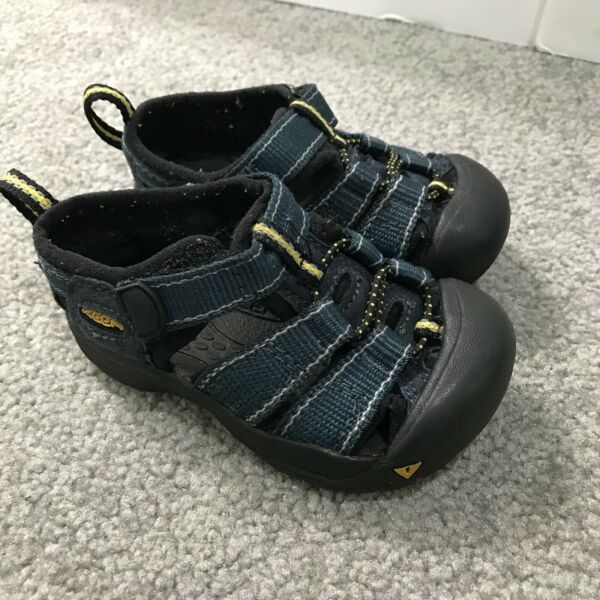 Keen Toddler Size 3 Waterproof Hiking Boating Sandals Black Teal 12 18 Months $19.99