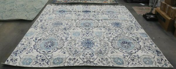 LIGHT GREY 9#x27; X 9#x27; Square Back Stain Rug Reduced Price 1172620233 MAD600C 9SQ