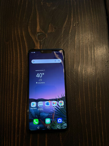 LG G8 ThinQ 128GB Aurora Black T Mobile Single SIM