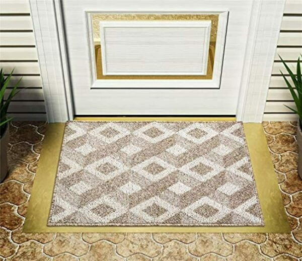 EasyJoy Welcome Door Mat 24quot;x 36quot;Indoor Outdoor Door Mat for Front Door Rubber