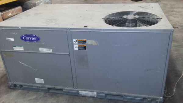 CARRIER 3 Ton Efficiency Rooftop Air Conditioner Heat Pump 50TFQ004 A 611 $1800.00