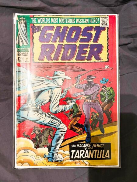 Ghost Rider 2 2nd Carter Slade $60.00