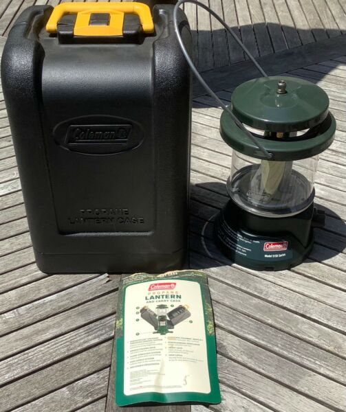 Coleman 2 Mantle Propane Lantern Model# 5155 With Case $39.95