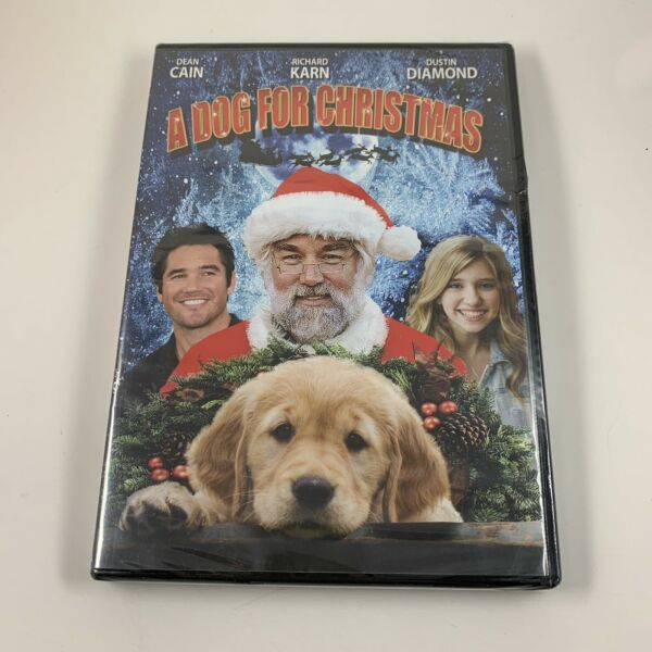 A Dog for Christmas 2015 DVD Family Comedy Dean Cain Richard Karn Dustin Diamond $6.90