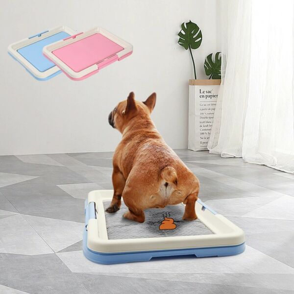 Portable Dog Training Toilet Indoor Dogs Potty Pet Toilet for Small Dogs Cats Ca $15.50