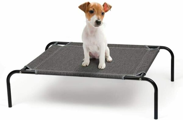 21.5#x27; Elevated for Small Dogs Portable Dog Cat Durable Fall Frame Raised Dog Bed $15.49