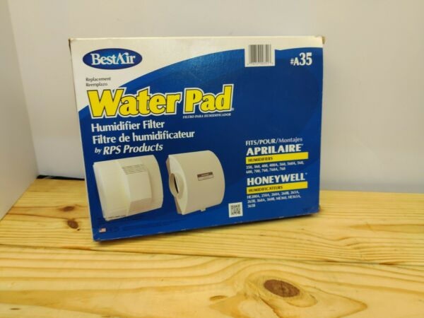BestAir A35 Best Air Furnace Humidifier Evaporator Replacement Water Pad $7.99