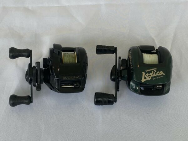 SHIMANO Speed Master Bantam BSS 2000 and Lexica LX 100 Baitcasting Reels