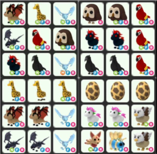 All Fly Ride Pets Legendary Ultrarare FR Adopt Your Pet From Me Huge Stoc $49.99