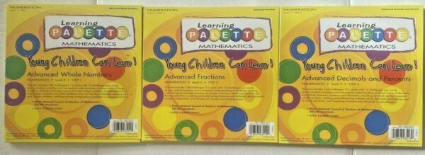 Learning Palette Math Numeration Level 5 step 1 2 and 3 Home School $25.99