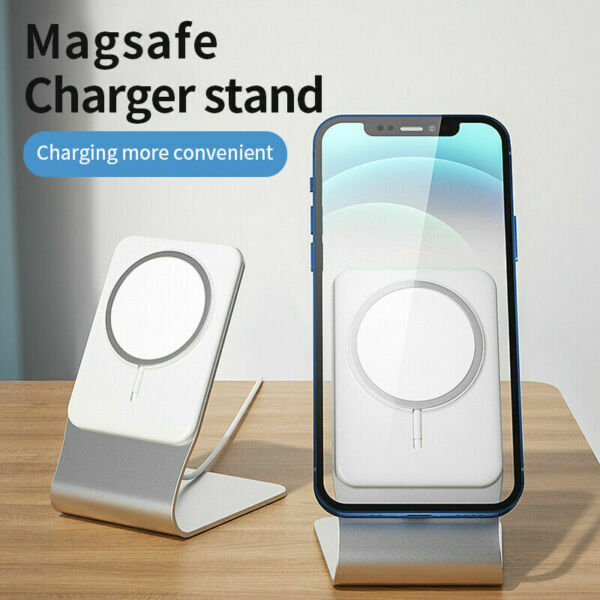 Aluminum Stand Magsafe Wireless Charger Holder Stand For iPhone 12 Pro Max $19.99