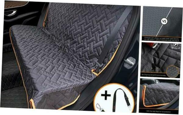 Bench Dog Car Seat Cover for Car SUV Small Truck Waterproof Back Seat Regular $41.45
