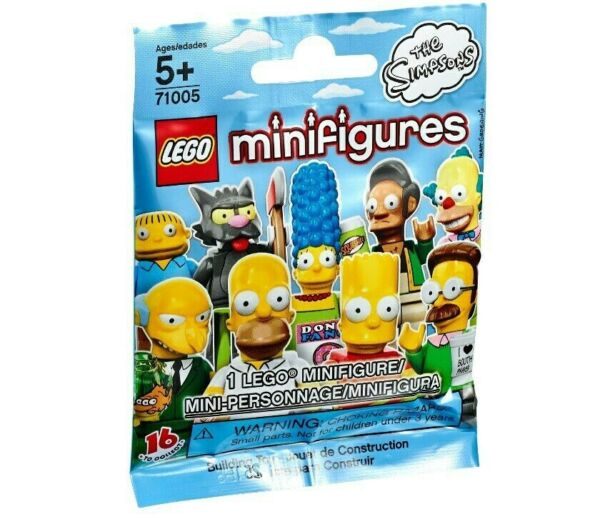 LEGO The Simpsons Minifigures Series 1 NEW Sealed Packages 71005