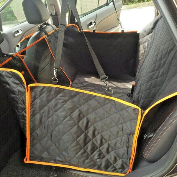 Dog Seat Cover for Back Seat Waterproof Dog Hammock Scratchproof Pet Seat... $31.49