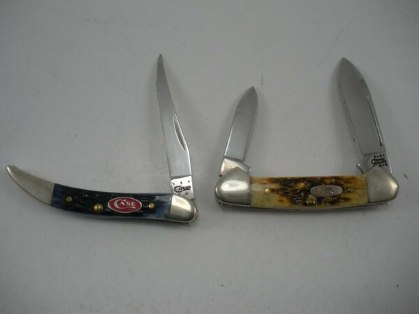 LOT OF 2 CASE KNIVES NEVER USED
