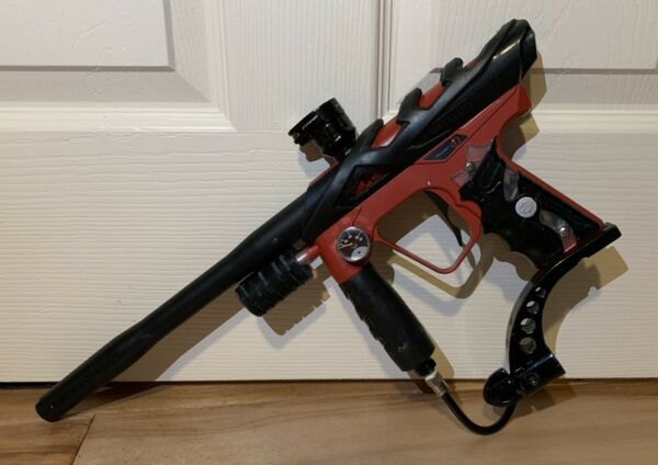 Custom Smart Parts Ion Paintball Marker Pump Red amp; Black $269.99